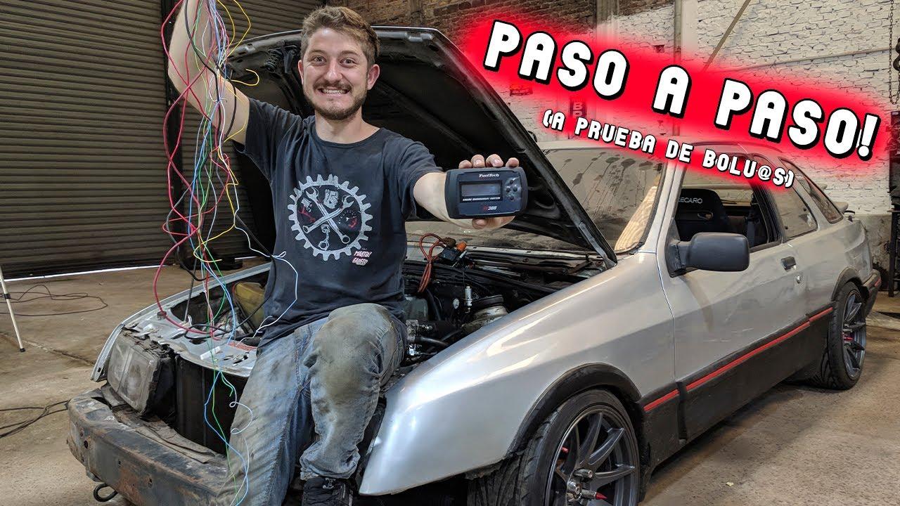 Armando el ramal eléctrico ECU programable!! APB!!!! || FuelTech 300 chicote