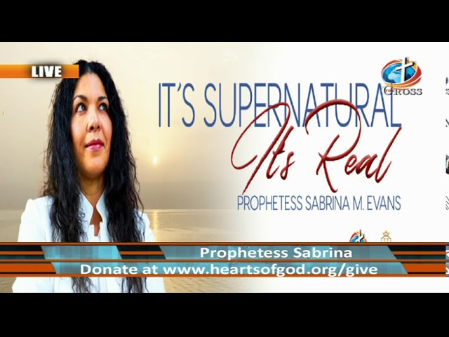 Prophetess Sabrina M. Evans ( it's Supernatural it's Real ) 12-22-2020