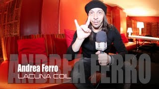 LACUNA COIL's Andrea Ferro: Life On The Road, NEW Album, AC MILAN & Marriage As A Touring Musician!