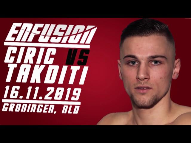 Ciric vs Takditi   Enfusion #91   Groningen, The Netherlands - 16.11.2019