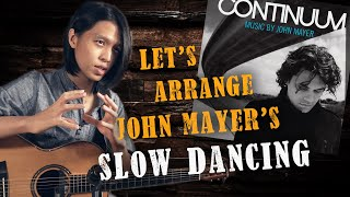 Step-by-Step Arrangement of 'Slow Dancing In A Burning Room' by John Mayer on Fingerstyle Guitar