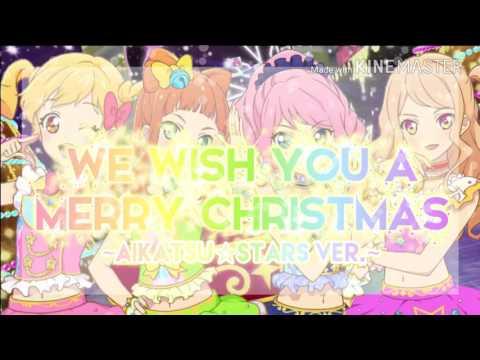 [LYRICS] Aikatsu Stars! — Yume-Rola-Mahiru-Ako — We Wish You a Merry Christmas ~AIKATSU☆STARS VER~