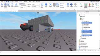 How to Make a Realistic Car in Roblox Studio - Speed Build Part 1 - Basic Frame