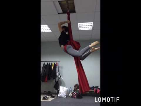 """Воздушная гимнастика/Полотна/Танцевальная студия """"BURLESQUE"""""""