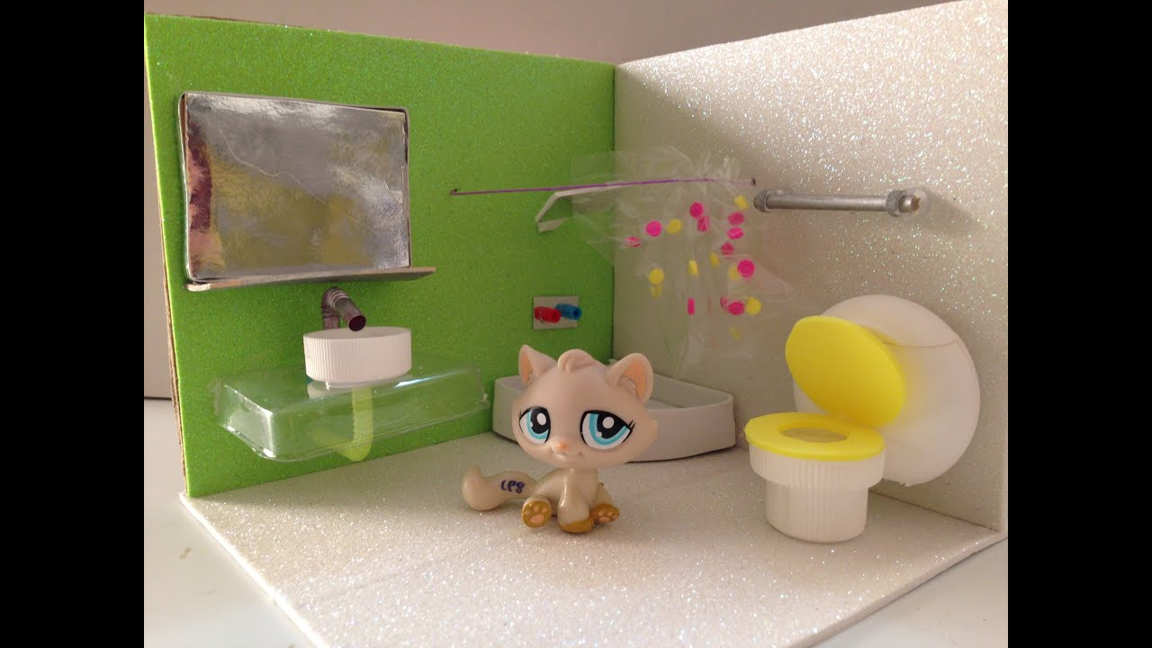 How to make a LPS Shower - YouTube