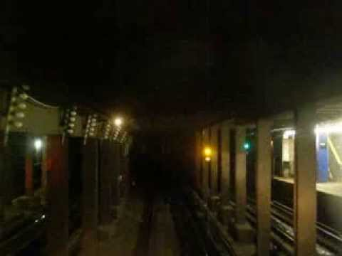 NYC Subway Queens Boulevard Express E Train - Queens Plaza to Forest Hills