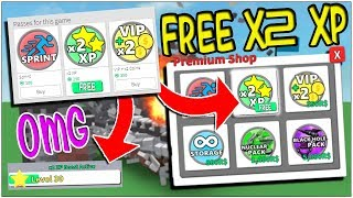 THE NEW FREE 2x XP BOOSTER CODE IN ROBLOX DESTRUCTION SIMULATOR