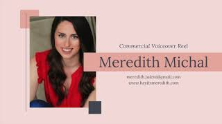 Meredith Michal Commercial Voiceover Reel