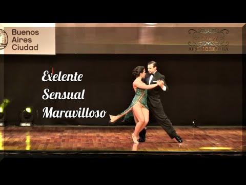 Mundial de Tango 2017, Final Escenario, Simone Facchini Gioia Abballe