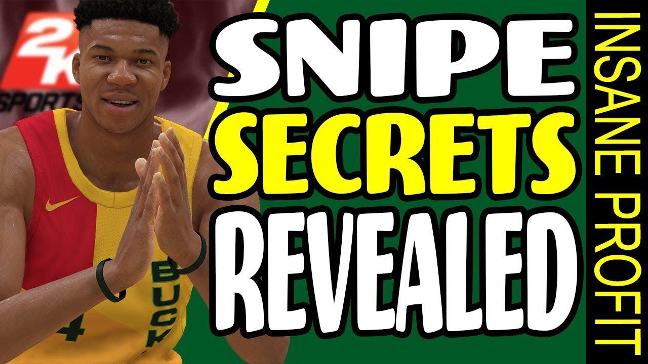 NBA 2K19 - MyTeam - SNIPE SECRETS REVEALED - INSANE PROFITS!