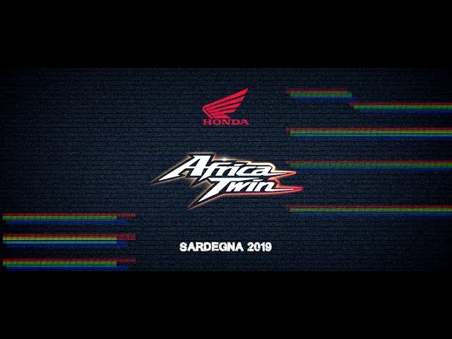 NEW HONDA Africa Twin 2020 True Adventure Sport TEST DRIVE - Sardegna 2019