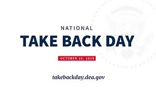 National Take Back Day 2019