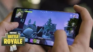 LEFT FORTNITE FOR ANDROID!!! * HOW TO DOWNLOAD AND INSTALL *