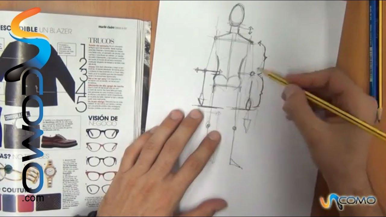 Cómo dibujar las proporciones de un cuerpo humano (4º parte) - YouTube