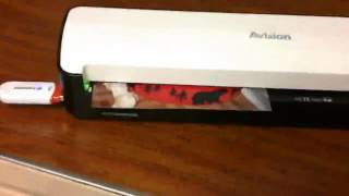 Avision IS25 Portable Scanner Review Works Great So Easy To Use