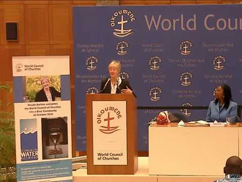 The World Council of Churches joins the Blue Community