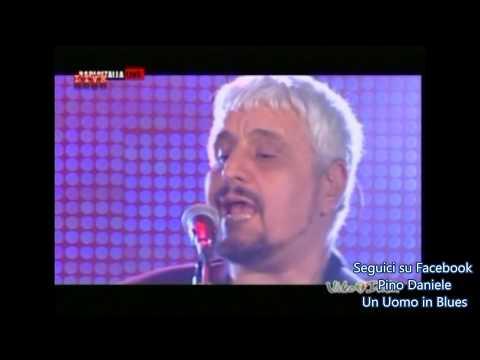 Pino Daniele Stare bene a metà (Se tu fossi qui) Radio Italia live 2012