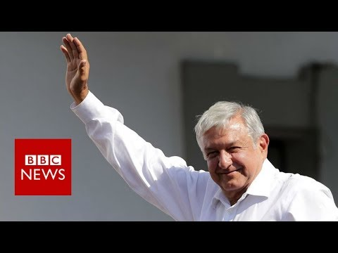 Mexico election: Who is Mexico's presidential front-runner 'Amlo'? - BBC News