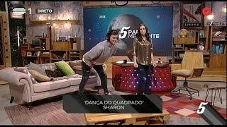 David Carreira faz a dança do quadrado - 5 Para a Meia Noite