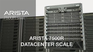 Arista 7500R Datacenter Scale