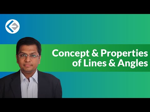 Basic Concept & Properties of Lines & Angles in Geometry (CAT/CMAT/GRE/GMAT)