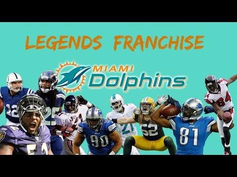 Miami Dolphins Legend Fantasy Draft - Part 1 The Draft