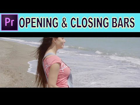 Opening and Closing Bars Effect - Adobe Premiere Pro Tutorial thumbnail