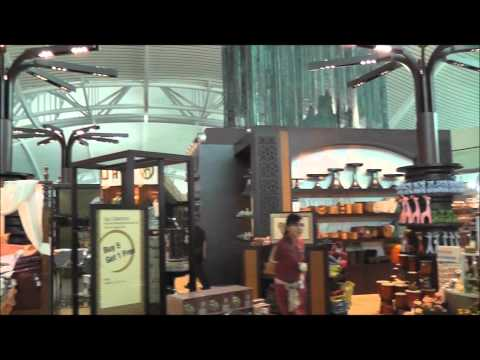 Duty Free and Shops Area, Bali International Airport, Indonesia