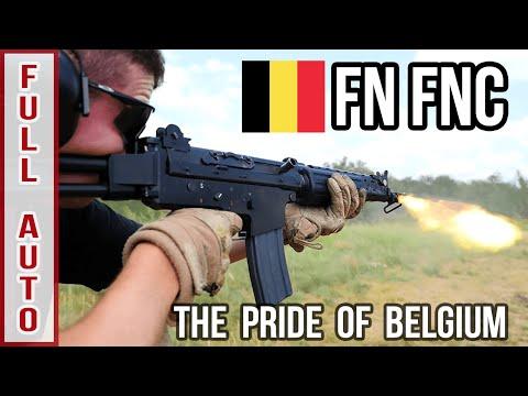 FN FNC Full Auto: The Pride of Belgium
