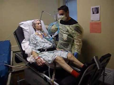 ICU Acute Care Physical Therapy Phyllis' Recovery - YouTube