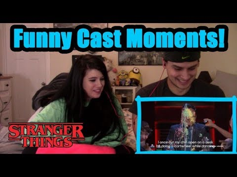 Stranger Things Cast Funny Moments | COUPLES REACTION!
