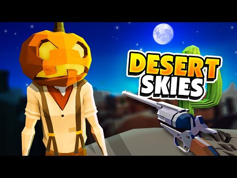 SPOOKY UPDATE! - Desert Skies Gameplay (Raft Clone)