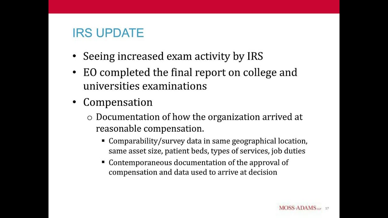 IRS Form 990 Update - YouTube
