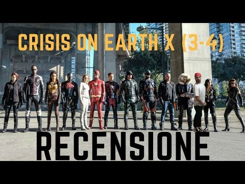 Crossover DC Crisis on Earth X (Parte 3-4) - Recensione ed Analisi