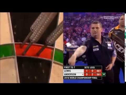 George Noble 180 - PDC WDC Final 2016