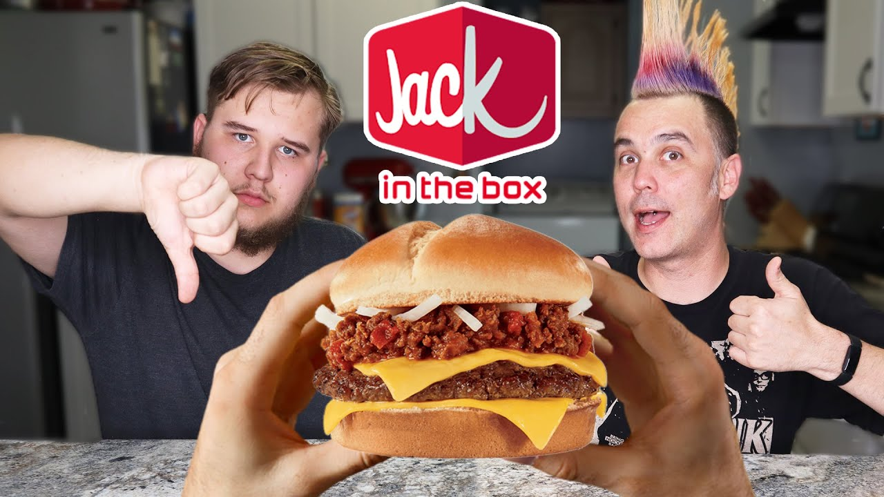 Jack In The Box New Chili Cheeseburger Review Is It Worth It Youtube
