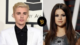 Selena Gomez vs Justin Bieber at the 2016 American Music Awards