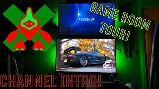 Channel Intro and Game Room Reveal!