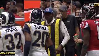Jalen Ramsey talking TRASH to Julio Jones PARODY: Falcons vs Rams Week 7