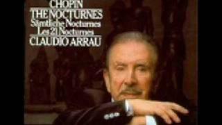 Claudio Arrau Chopin  Nocturne 19 Op.  72 No  1