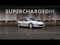 SUPERCHARGED! 1991 Honda Civic EF