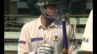 2004 india vs australia 4th test highlights
