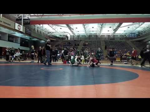 2016 Dino Invitational: 63 kg Emily Kessler vs. Cholena Horne