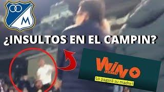 ¿Hinchas De Millonarios Insultan Periodistas De Win Sports + En La Tribuna Del Campin? ?