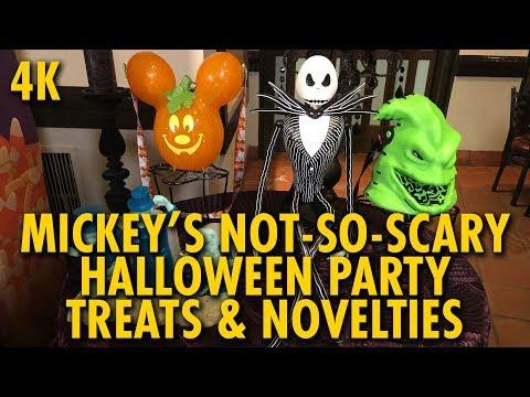 Mickey's Not-So-Scary Halloween Party Treats & Novelty Items | Walt Disney World