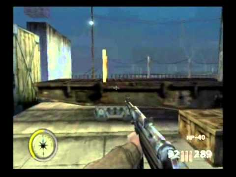 Medal of Honor: Frontline Playthrough: Part 5 - Storm in the Port: Eye of the Storm