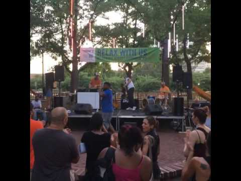 Reef the Lost Cauze at Spruce Street Harbor Park