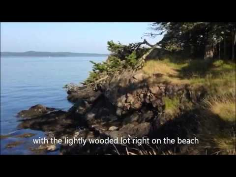 Mineral Point Waterfront lot for sale - San Juan Islands, Washington