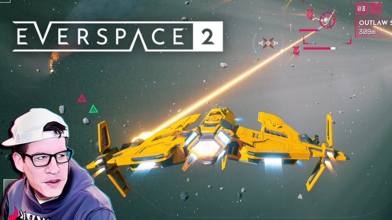 When the space lasers just right - Lawrence Plays Everspace 2
