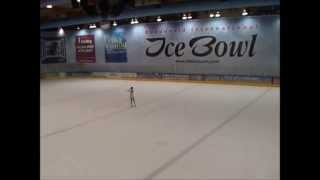 2014 Irish National Figure Skating Championships Highlights